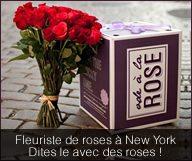 Provoquez votre chance, et gagnez un an de roses avec Ode à la ROSE