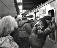 Le métro de New York en hiver et en images