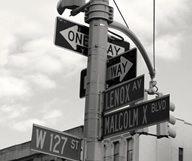 Balade à Harlem autour de l'avenue Malcom X de la 135 st à la 125 st, en images