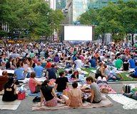 Le festival du Film à Bryant Park