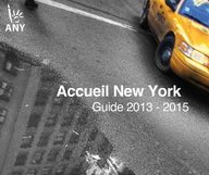 Sortie du guide 2013-2015 de l'association Accueil New York