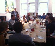 Petit déjeuner du Club Startup French District : le partage de compétences