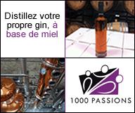 Distillez votre propre gin, à base de miel !