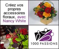 Créez vos propres accessoires floraux avec Nancy White