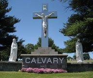 Le cimetière Calvary dans le Queens, ou des caveaux avec vue sur Manhattan