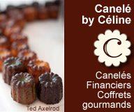Les caneles de Celine confectionne des caneles des financiers et des coffrets sur mesure et vend a distance avec sa boutique en ligne