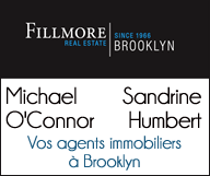 Sandrine Humbert et Michael O'Connor </br>Fillmore Real Estate