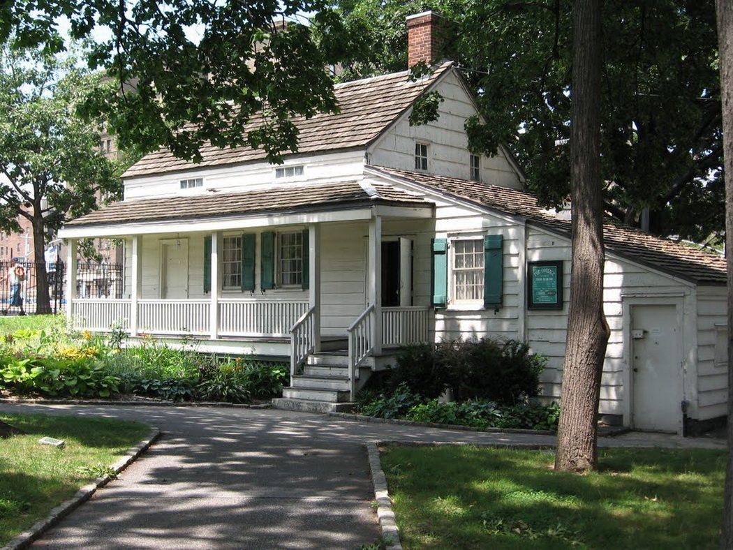 Texas Auto Pros >> Edgar Allan Poe Cottage, visite d'une demeure historique ...