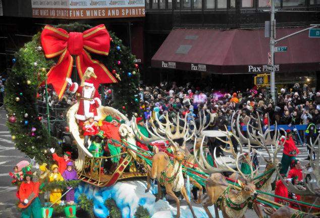5 endroits où voir le Père Noël à Manhattan