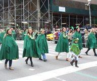 La parade de la Saint Patrick à Manhattan