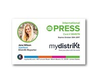 Comment obtenir votre carte de Presse Internationale avec mydistriKt ?