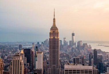 NY, vue de là-haut