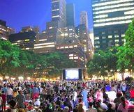 Des films gratuits à NY tout l'été