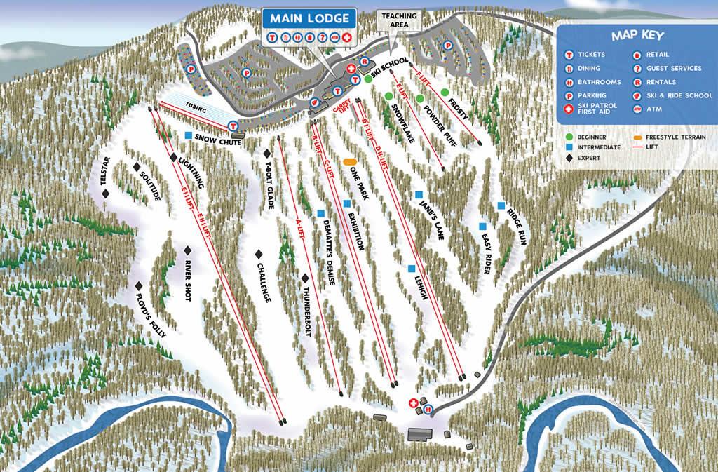 skier-neige-montage-pistes-ski-new-york-big-boulder-map