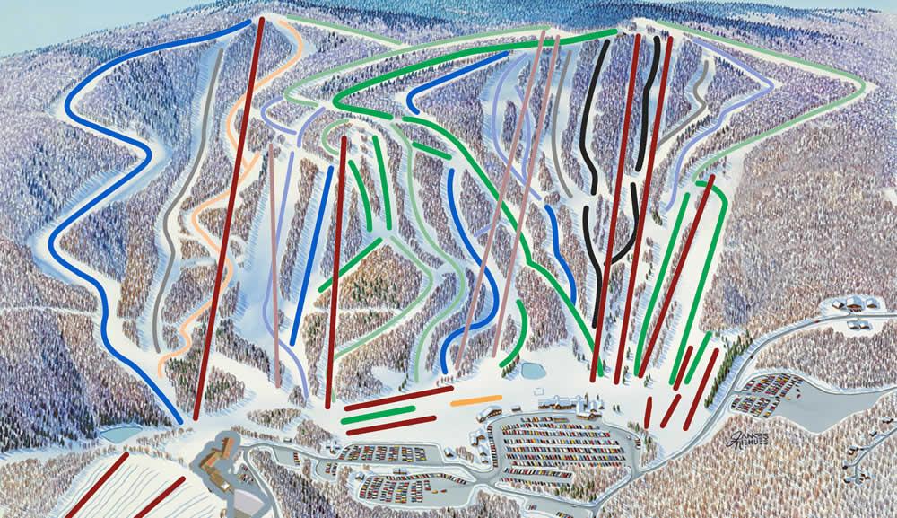 skier-neige-montage-pistes-ski-new-york-camel-back-map