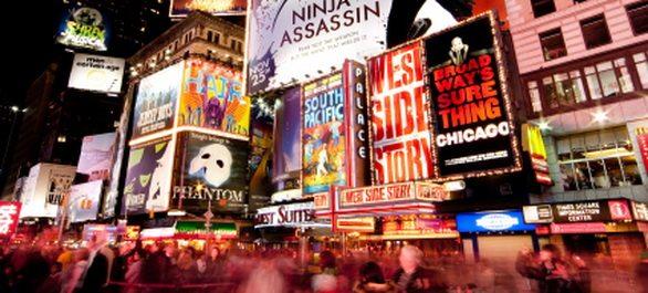 Assister à une comédie musicale à Broadway
