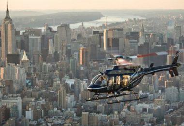 New York depuis là-haut