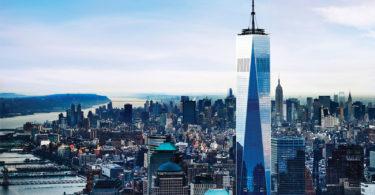 Le one World Observatory - vue panoramique sur les hauteurs de NYC