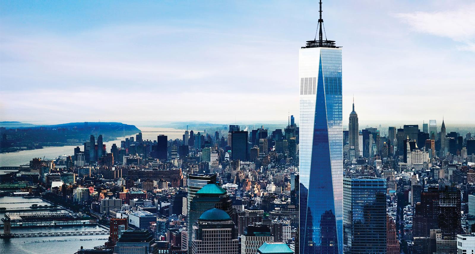 Le one world observatory vue panoramique sur les for Le salon east nyc