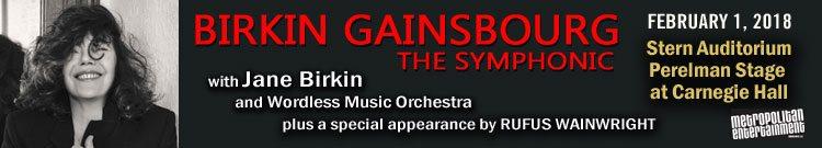 Concert Jane Birkin NY