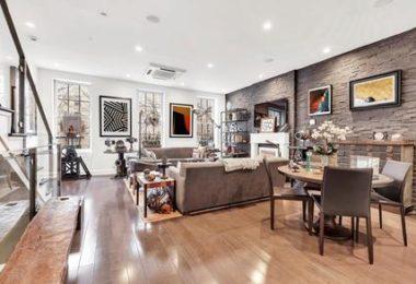 Une charmante maison de ville à louer dans le West Village
