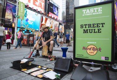 Les fourneaux de Times Square