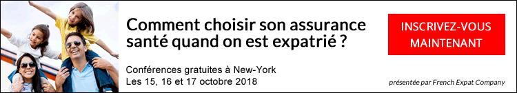 French Expat Company en tournée, conférence New-York