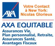 AXA Advisors LLC – Nicolas Glorieux