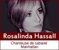 French Cabaret Singer – Rosalinda Hassall