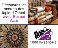 Découvrez les secrets des tapis d'Orient avec Baseer Azizi !