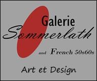 Galerie Sommerlath et French 50s et 60s