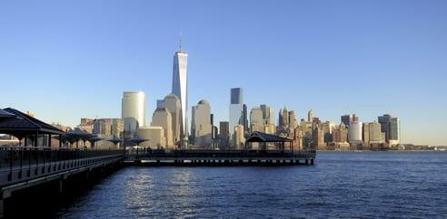 Balade en front de mer à Jersey City