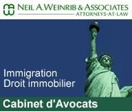 Neil A. Weinrib & Associates est un cabinet d'avocats à New York spécialisé dans le droit de l'immigration, le droit pénal, le droit matrimonial et le droit immobilier.