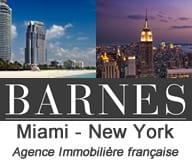 Barnes est une agence immobilière de prestige implantée à Miami et à New York