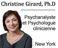 Christine GIRARD psychologue clinicienne et psychanalyste pour les enfants, les adolescents et les adultes dans l'Upper West Side, à Manhattan.
