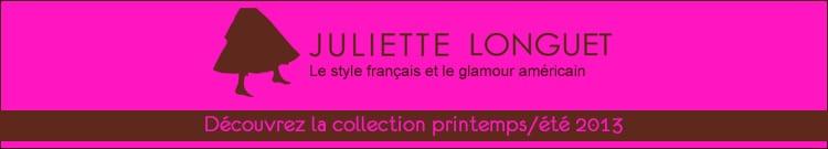 Juliette Longuet - Collection femme printemps-été 2013
