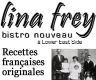 Lina Frey est un bistro nouveau de cuisine française à Lower East ide et propose des Happy Hours tous les jours en semaine de 14 h à 18 h