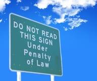 Les lois les plus insolites de New York