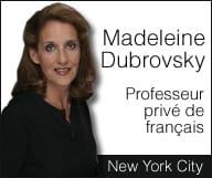 Madeleine Dubrovsky – cours de français
