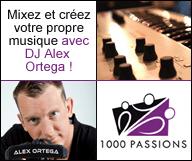 Mixez et créez votre propre musique avec DJ Alex Ortega !