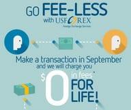 Vos transactions gratuites en Septembre