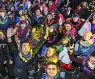 Bryant Park fait son carnaval