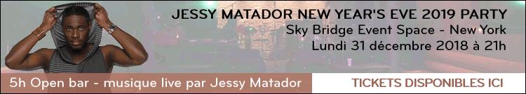 Jessy Matador New Year's Eve – Banner
