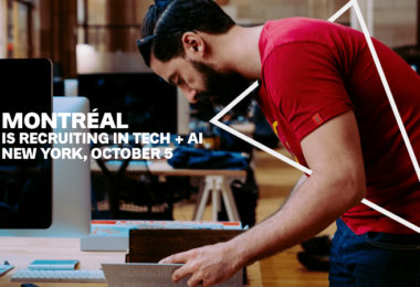 Montréal recrute en Tech + AI