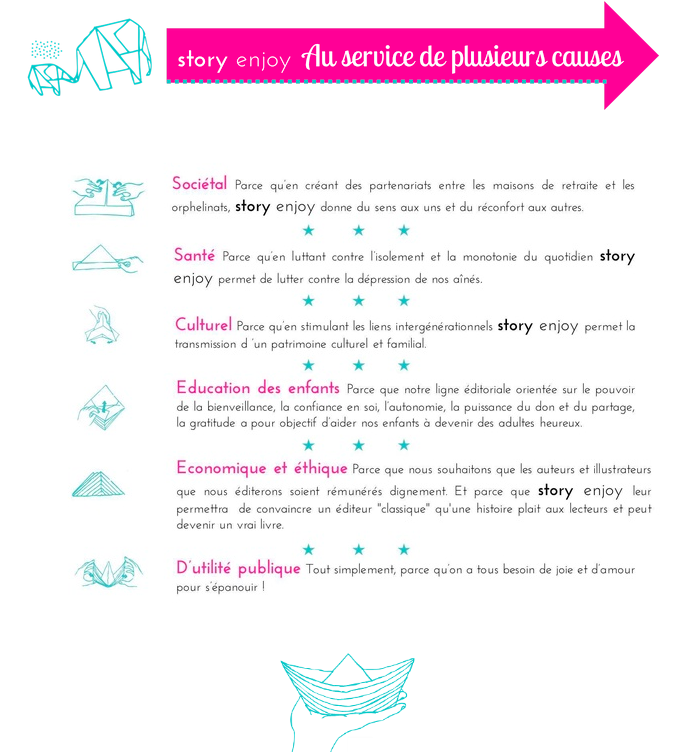 Les causes Story enjoy French District