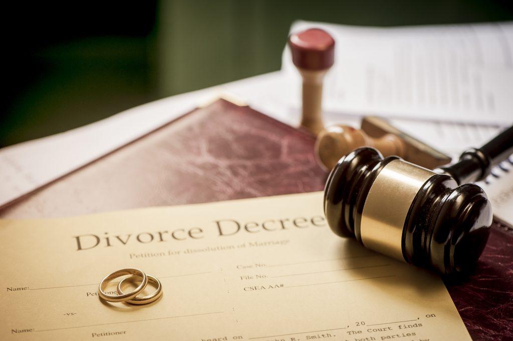 Le divorce aux États-Unis