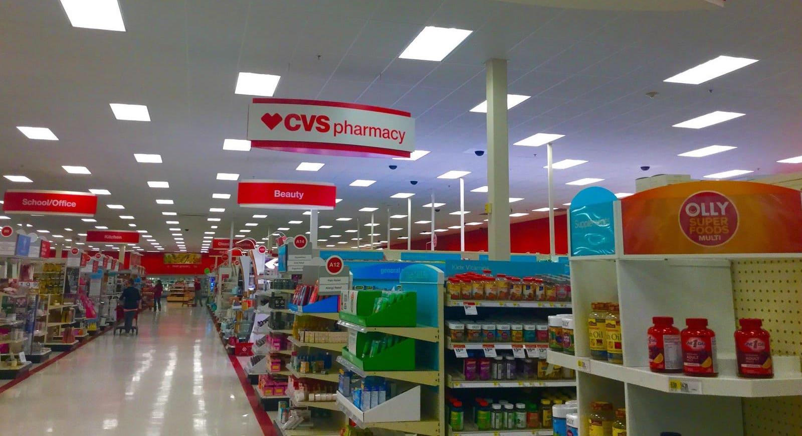 Les pharmacies aux États-Unis