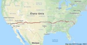 top-road-trip-etats-unis-itineraires-parcs-nationaux-hwy-i40-map