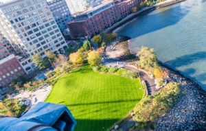 Brooklyn Bridge Park aerial view