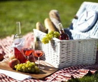 Pique-niquer dans un domaine viticole